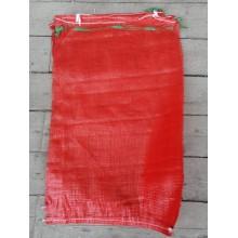 Сетка овощная турецкая красная 50х80, 32г, с завязками